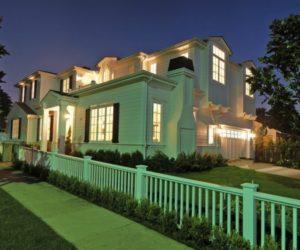 Traditional house in California featuring a grandiose design