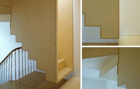 Hanging Box Stairs