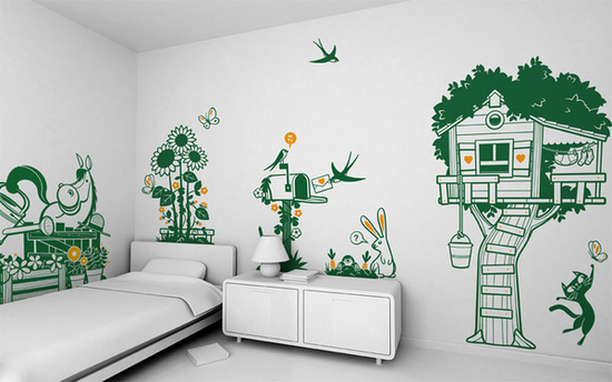 Minimalist Kids\' Wall Décor Ideas From E-glue