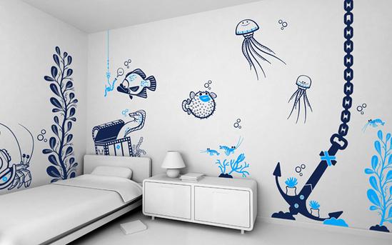 Minimalist Kids Wall Dcor Ideas From E glue