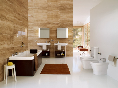 Inspirational Bathroom Design Ideas And Pictures Page 74 - Ebano-furniture-bathroom-with-wood-effect