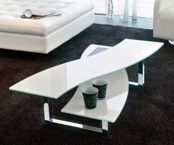 modern tables Lazy X Table