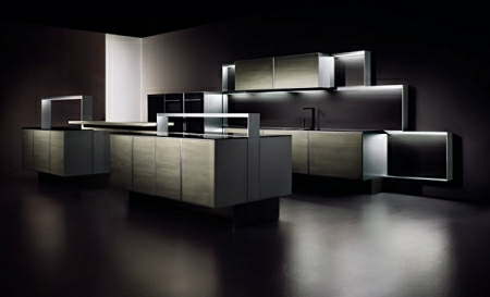 Modular Kitchen for men by Porsche Design