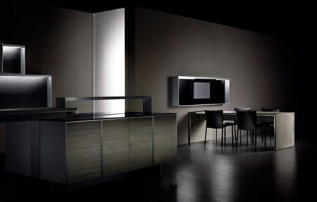 Modular Kitchen for men by Porsche Design1