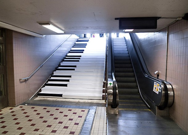 stair design piano staircase