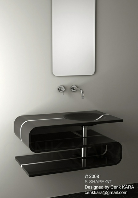 S Shaped Sink Design