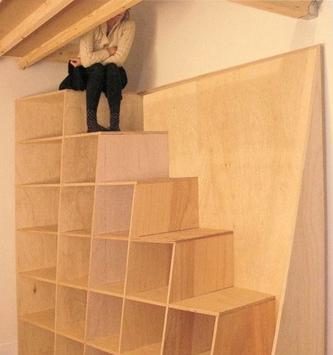 Stairs as Storage