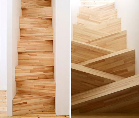 Stairs For A Super Tight Space