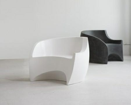 The Fiberglass Chair By Vladimir Kagan And Ralph Pucci