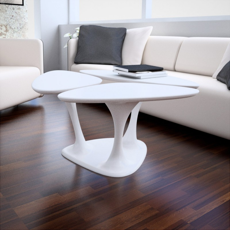modern tables Three Stalk Coffee Table