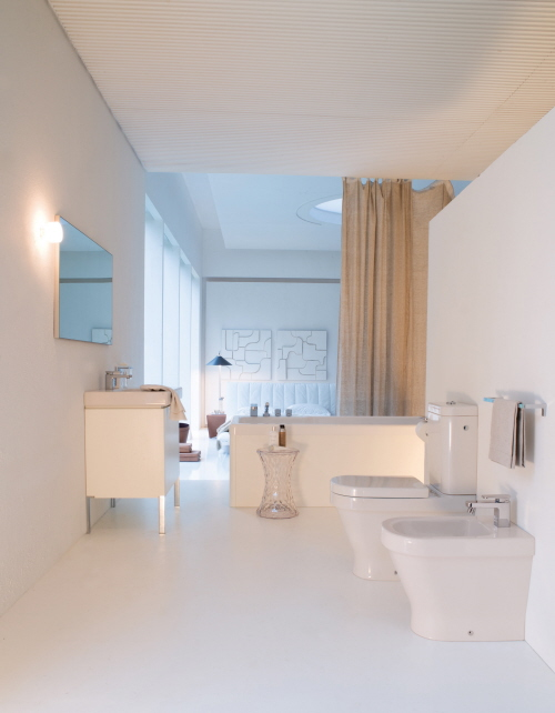 bathroom decorating white