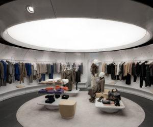 Frankfurt Stefanel store has a gallery-like interior
