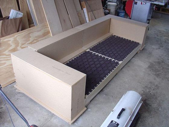 Modern DIY Sofa   Eric Dalpiaz Gallery