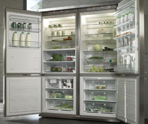 Exceptional Electrolux Refrigerator With Bootom Freezer · Miele Grand Froid 4 Door  Refrigerator Ideas