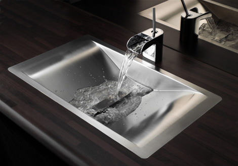 New Sink Design Wave By Reginox Good Looking