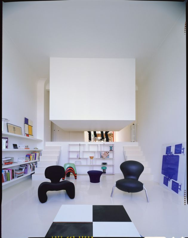 Suspended Room Within The Center Of The Apartment