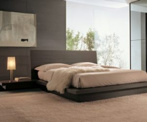 Beautiful Bedrooms Design By Fimar - Creative-side-system-for-fans-of-a-fashionable-black-and-white-color-theme-by-fimar
