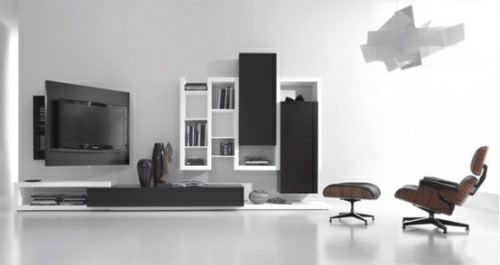 Black-and-white-living-room-furniture-with-functional-tv-stand-creative-side-system-by-Fimar-1-554x294