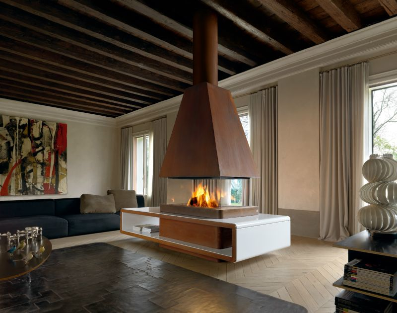 Modern Fireplace Design By Montegrappa