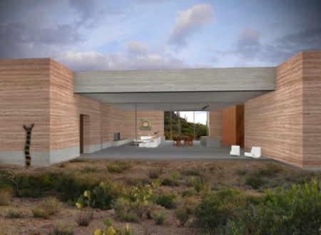 Tucson mountain retreat by dust design for Building a house in arizona