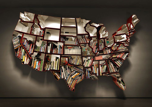 United States Bookshelf By Ron Arad
