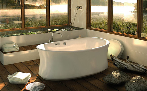 Ambrosia bathroom ideas by pearl baths - Relaxing japanese bathroom design for ultimate relaxation bath ...