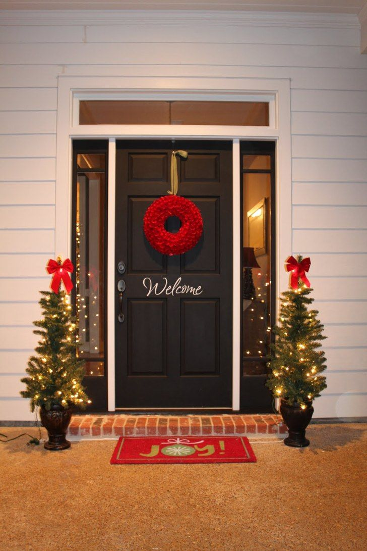 Outdoor christmas decorations for a livelier and more Christmas decorations for house outside ideas