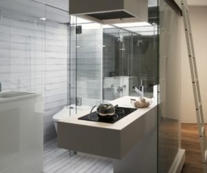 Subaco Bathroom Solution for Small Apartment by Spiritual Mode