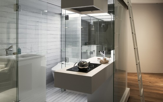 Beau Subaco Bathroom Solution For Small Apartment By Spiritual Mode