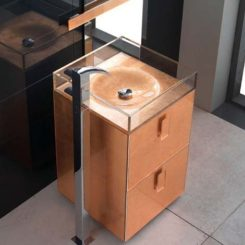 Self Standing Sink By Qin