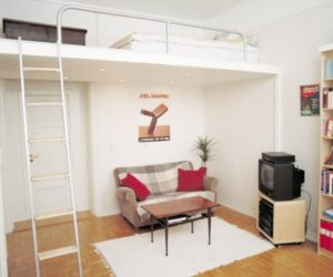 Bedroom Concept for Compact Spaces