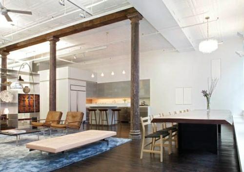 Charming Greene Street Loft By Slade Architecture