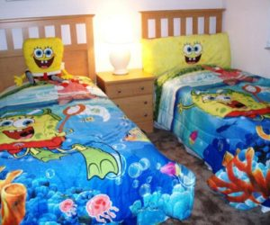 Kids' Bedroom Décor Ideas Inspired by SpongeBob SquarePants