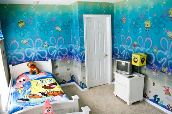 Sponge Bob Room Decoration