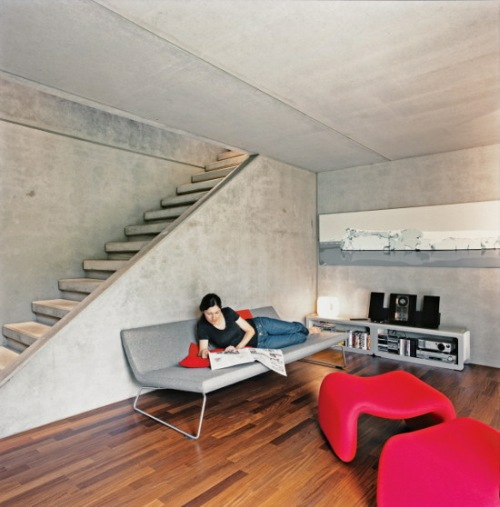 Concrete Prefab House in Switzerland10