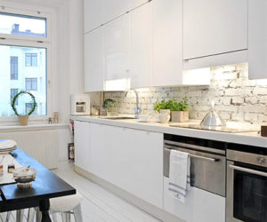 Gorgeous Swedish apartment combines vintage charm with modern functionality