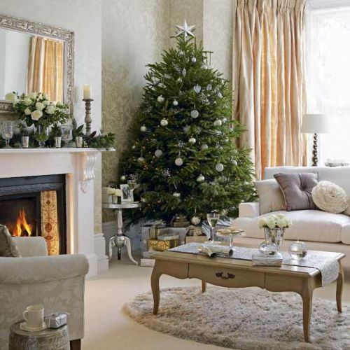 modern decorating ideas for christmas tree 2 - Classy Christmas Tree Decorations