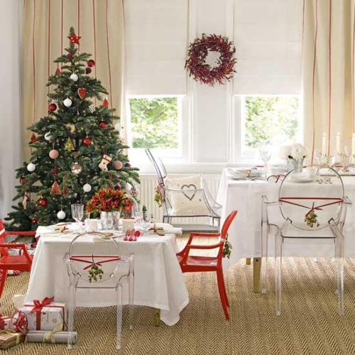 modern decorating ideas for christmas tree 8