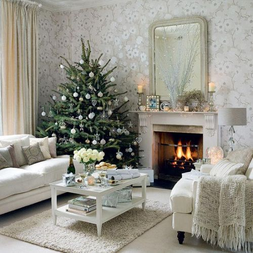 8 classy christmas tree decorating ideas - How To Decorate Small Room For Christmas