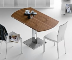 Elvis Wood Top Dining Table by Cattelan