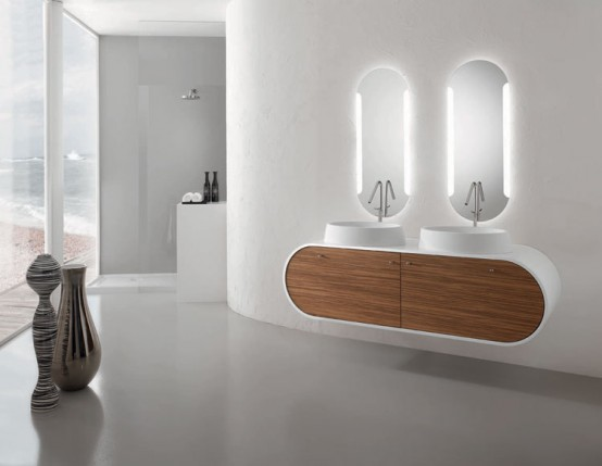 Piaf Modern Bathroom Furniture Sets By Foster