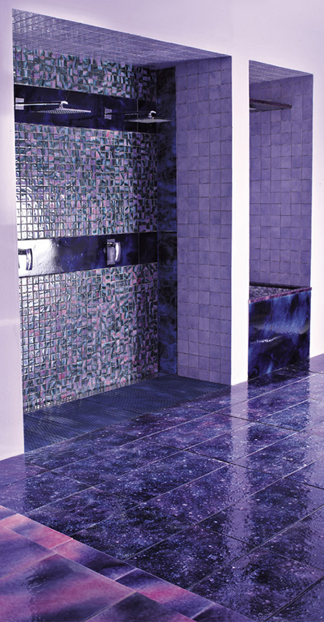 Superieur Purple Bathrooms By Franco Pecchioli Ceramica