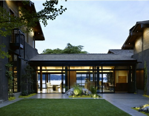 Washington courtyard house by roland terry - Residence choy terry terry architecture ...