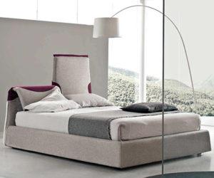 Paciugo Italian Contemporary Bed by Bolzan Beds