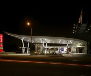 Gas Station Design by Kanner Architects
