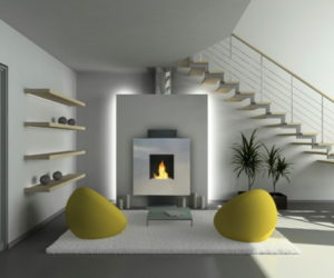 Modern Affordable Ventless Fireplaces