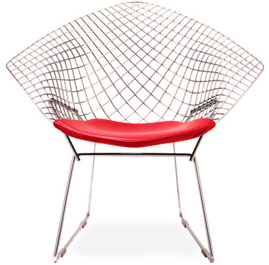 Bertoia Diamond Chair for Outdoor