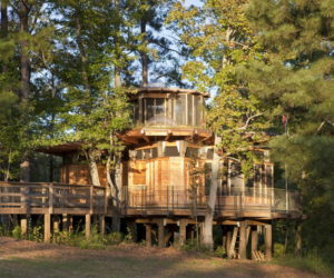 Camp Twin Lakes Treehouse by Lord, Aeck & Sargent