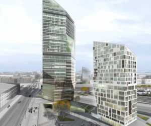 Central Pasila Tower Area by Cino Zuchi Architetti