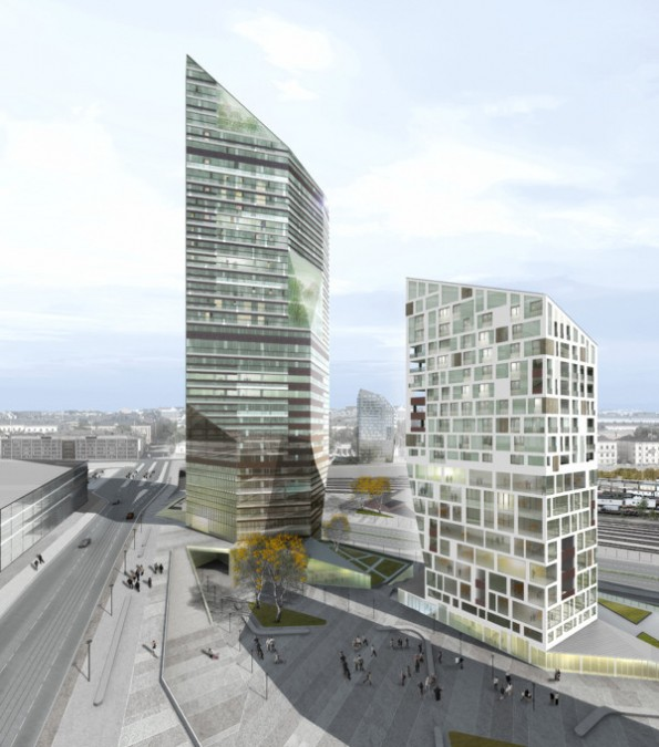 Central Pasila Tower Area by Cino Zuchi Architetti3